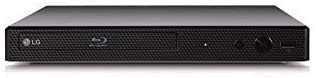 LG BP-250 Blu-Ray-Player, Multi-Region-Version, Smart, 110–240 Volt, Dynastar 1,8 m HDMI-Bundle