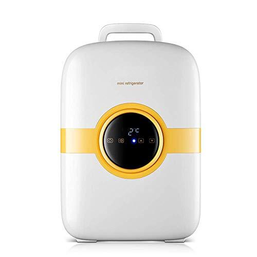 WYJW Makelloser Minikühlschrank/tragbarer Kosmetikkühlschrank, LED-Panel, Geburtstagsgeschenke für Sie, Geeignet für alle kosmetischen Aufbewahrungszwecke, für Make-up und Hautpflege,