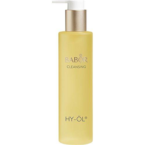 BABOR CLEANSING HY-ÖL, hydrophiles Reinigungsöl, Make-up Entferner, luxuriöse Gesichtsreinigung, mild und vegan, für jeden Hauttypen, 200 ml