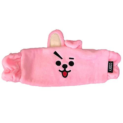 Yovvin BTS Stirnband, Kpop Bangtan Jungen Jungkook Jimin V Suga Jin J-Hope Rap Monster Unisex Baumwolle Haarband Headband für The Army( Cooky)
