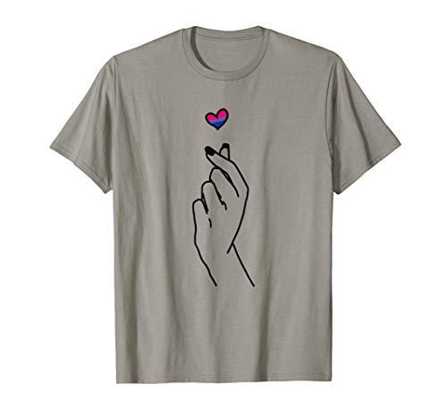Bisexual Merchandise Bi Pride Merch Bi-Sexual Gifts Kpop T-Shirt
