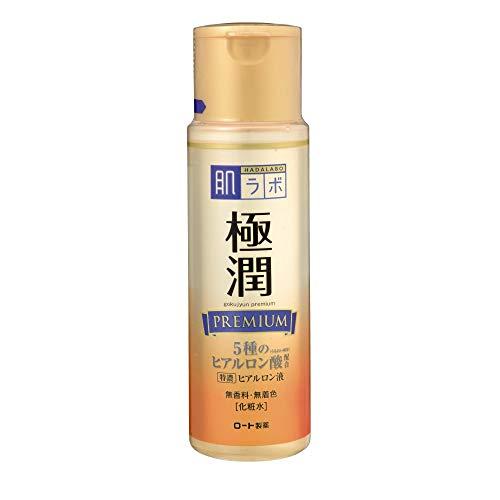 "Hadalabo Japan Skin Institute ""Gokujun Premium Hyaluron Lösung"", 170ml."
