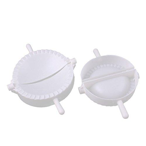 2Stück Kunststoff Chinesische Teigtaschen Presse Pie Fleisch Kloß Ravioli-Former DE de
