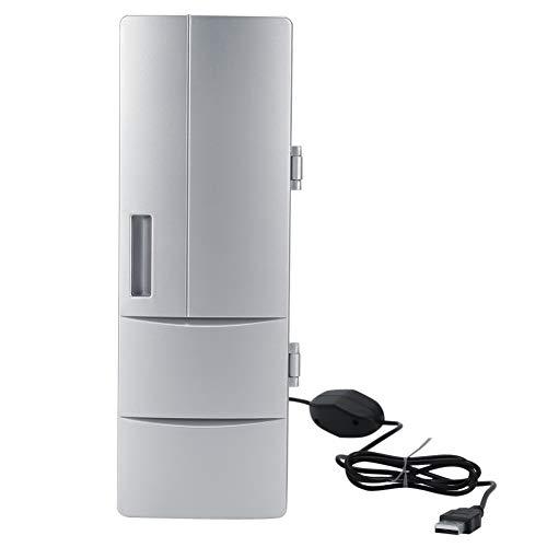 Promise2134 Mini-USB-Kühlschrank Kreativer kleiner Kühlschrank Mini-Medizin-Kosmetikkühlschrank