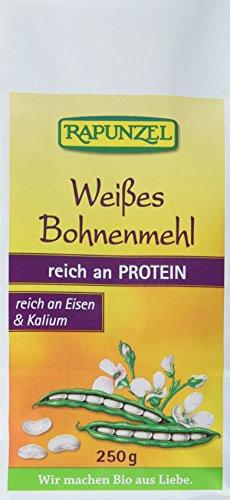 Rapunzel Weißes Bohnenmehl, 4er Pack (4 x 250 g)