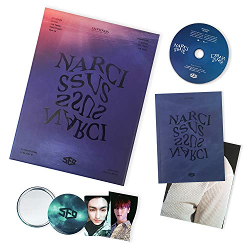 Narcissus [ EMPTINESS ver. ] - SF9 6th Mini Album CD + Booklet + Photocard + Folding Poster + Photocards + FREE GIFT / K-Pop Sealed