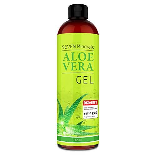 Aloe Vera Gel 99% Bio, 355 ml – ÖKO-TEST Sehr Gut – 100% Natürlich, Rein & Ohne Duftstoffe (Alkoholfrei, Kein Parfüm/WC-Duft) – Einzigartige Vegane Formel aus Frisch Geschnittener Aloe, Nicht Pulver