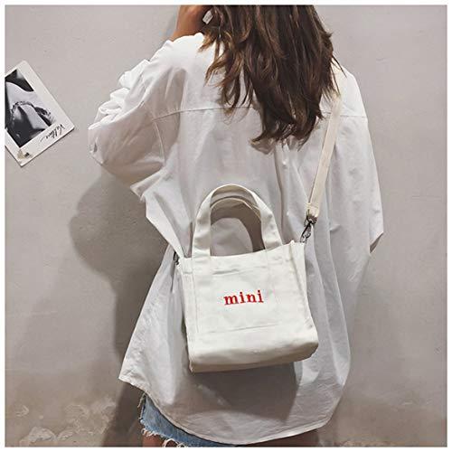 Cosye Mode Mädchen One-Shoulder Mini Canvas Handtasche Koreanische Umhängetasche Umhängetasche Lässige Reisetasche Für Mädchen