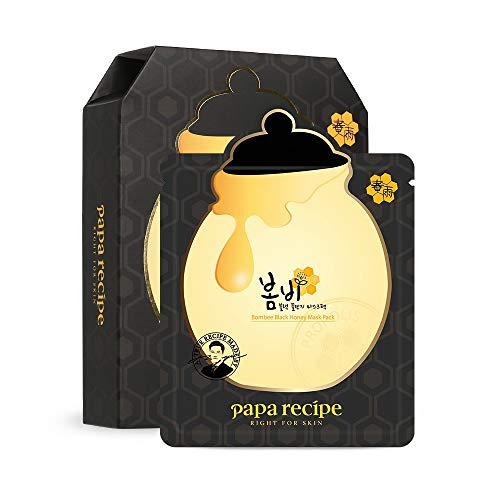 Papa Recipe Bombee Honey Mask Pack, Black, 25g, 10 Each by Papa Recipe
