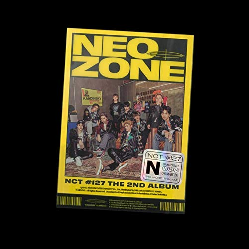 SM Entertainment NCT 127 - NCT #127 Neo Zone [N ver.] (Vol.2) Album+Extra Photocards Set