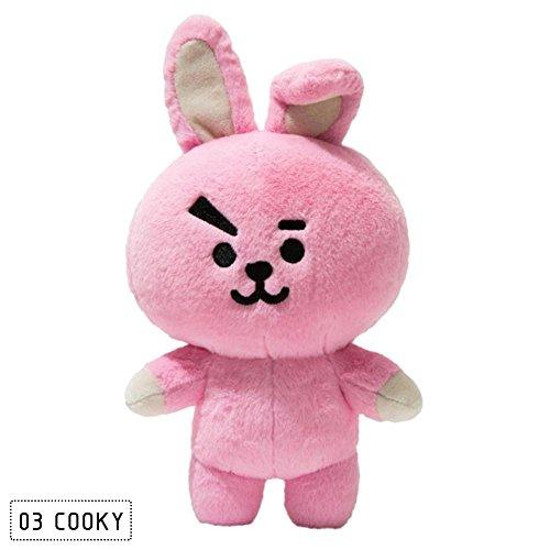 kinbelle 30cm V jungkook rap chimmy Plüsch Spielzeug Plüsch Stoff Spielzeug für Hund koya tata rj Kaninchen Hund stehend Puppe Geschenk Cooky