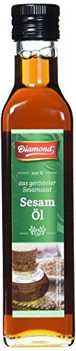 Diamond Sesamöl, geröstet, 100% 250 ml - 2 Stück