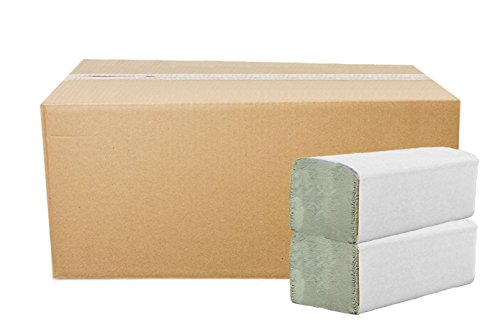 5.000 Blatt Papierhandtücher Premium Falthandtuch Natur 1-lagig 25 x 23 cm ZZ-Falz