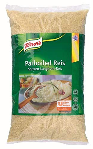 Knorr Parboiled Reis Spitzen-Langkorn purer in Gastro-Qualität, 1er Pack (1 x 5000 g)
