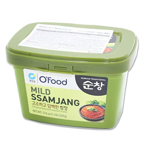 CJ Mild Ssamjang Koreanische gewürzte Sojabohnenpaste zum Dippen 500g