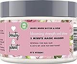 Love Beauty And Planet Blooming Strength & Shine Haarmaske, für strapaziertes Haar Murumuru Butter & Rose biologisch, 1 Stück (300 ml)