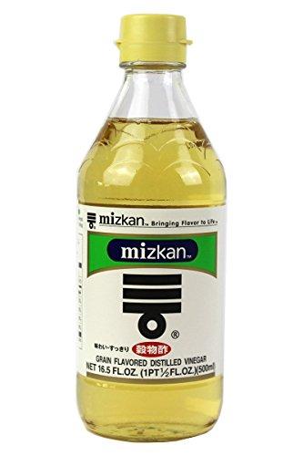 Mizkan Getreide Reisessig für Sushi (4 x 500ml) [als 1er, 4er und 10er Packung erhältlich]