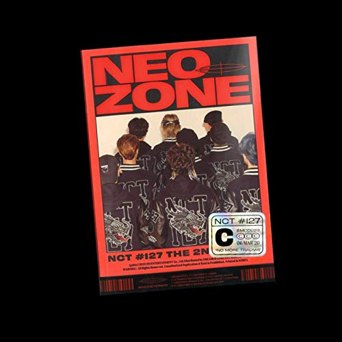 SM Entertainment NCT 127 - NCT #127 Neo Zone [C ver.] (Vol.2) Album+Extra Photocards Set