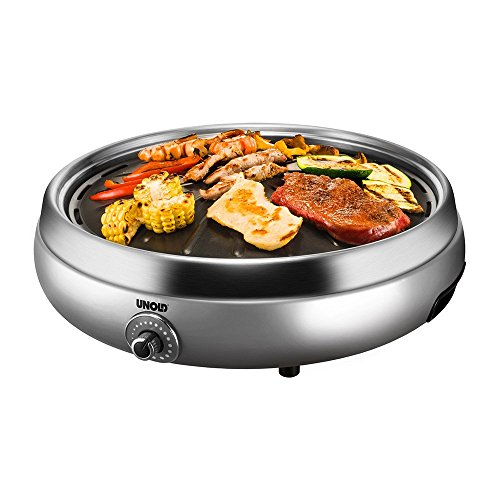 Unold 58546 Tischgrill'Asia', silber