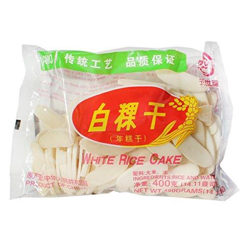 White Rice Cake Reiskuchen getrocknet 400g Nian Gao
