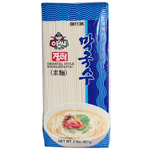Assi Brand Koreanische feine dünne Weizennudeln 907g