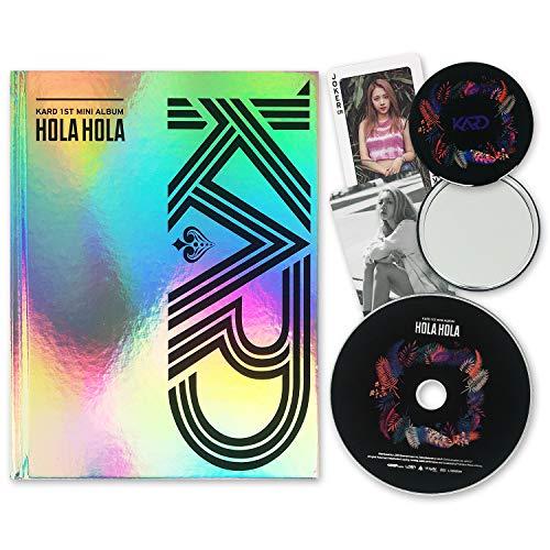 KARD 1st Mini Album - [ HOLA HOLA ] CD + Booklet + Photocards + FREE GIFT / K-pop Sealed