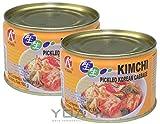 [ 2x 160g ] HOSAN Kimchi koreanisch eingelegter Kohl / KIM CHI / Kimchee