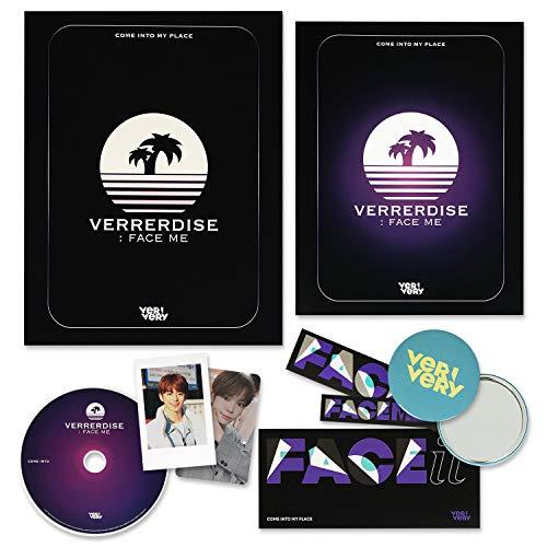 VERYVERY 3rd Mini Album - FACE ME [ DIY ver. ] CD + Photobook + Polaroid Photocard + Photocard + FREE GIFT / K-POP Sealed
