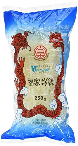 Diamond Glasnudeln, lang, Lungkou Vermicelli, 10er Pack (10 x 250g Packung)