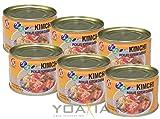 6er Pack HOSAN Kimchi koreanisch eingelegter Kohl [6x 160g] KIM CHI
