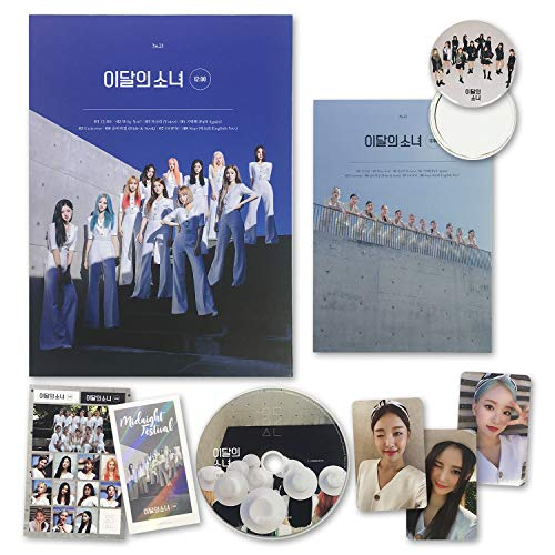 LOONA Montly Girl 3rd Mini Album - 12:00 [ D ver. ] CD + Photobook + Photocards + Sticker + Ticket + OFFICIAL POSTER + FREE GIFT