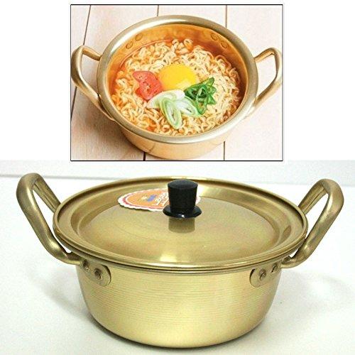 Korea Noodle Pot / Hot Shin Ramyun Aluminum Pot 6.3'(16cm)/ Traditional HOT POT by Korea Noodle Pot