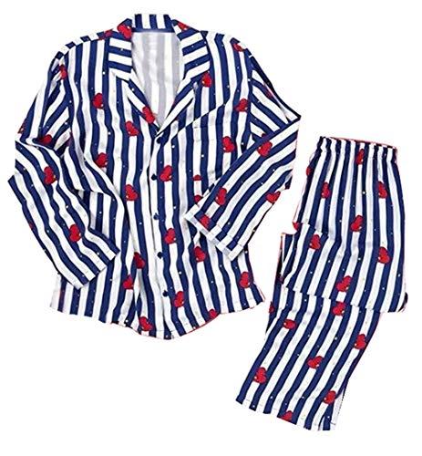 Silver Basic BTS Bangtan Boys Musik-Fanbekleidung JUNG JOOK Jimin V Harajuku Stil BT21 Pyjama Set Nachtwäsche (M, Tata-3)