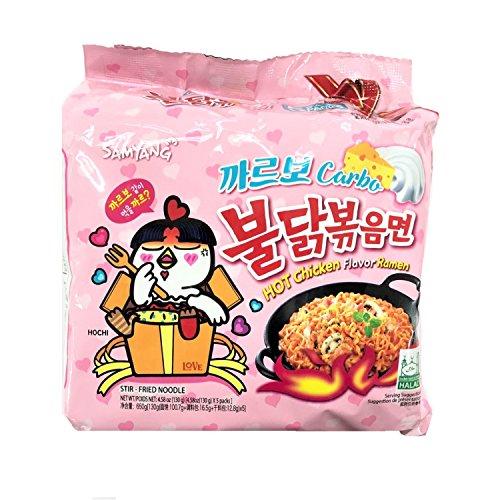 Samyang Hot Chicken Flavour Ramen Carbonara 130g (5 Stück)