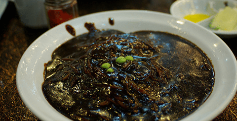 Jjajangmyeon – Black Bean Noodles