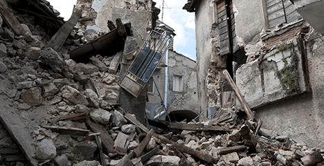 Das sind die Folgen vom Erdbeben
