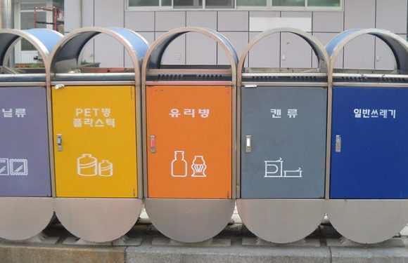 So geht Recycling in Korea