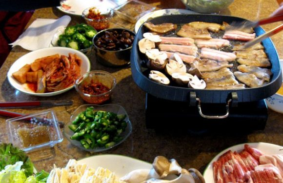 Wie grillt man in Korea?