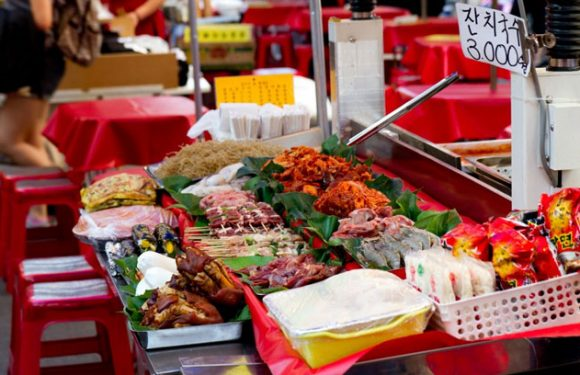 Der Namdaemun-Markt in Seoul