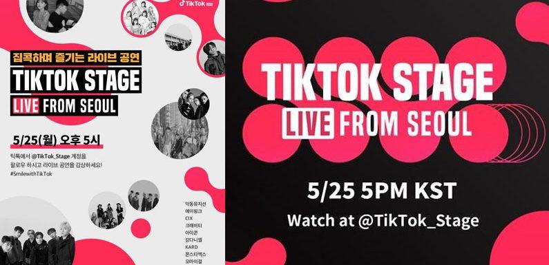 TikTok Stage – hier kommt das nächste große Online-Konzert