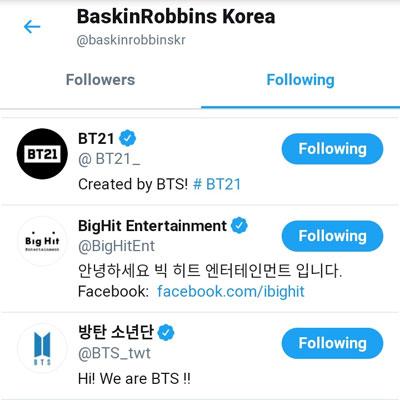 Baskin-Robbins-BTS