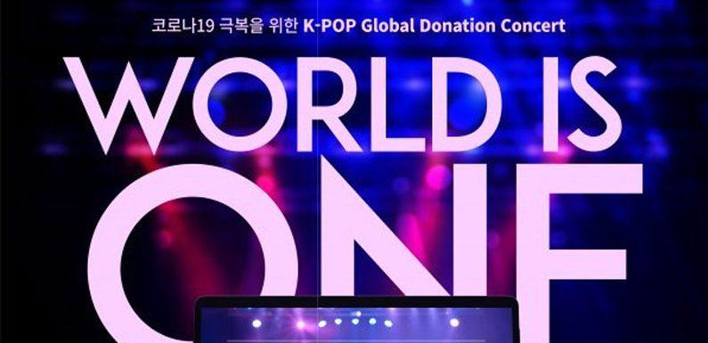 """Das ist das Lineup des """"WORLD IS ONE"""" Donation Concerts"""