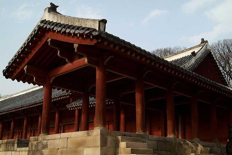 Jongmyo-Schrein