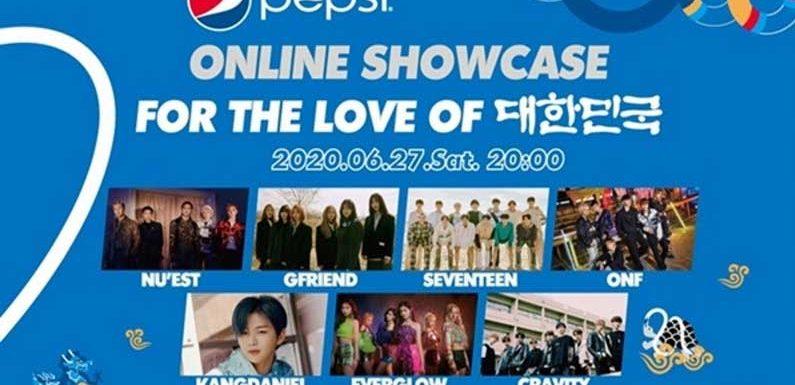 Hier ist das Lineup für das 2020 Pepsi Online Showcase
