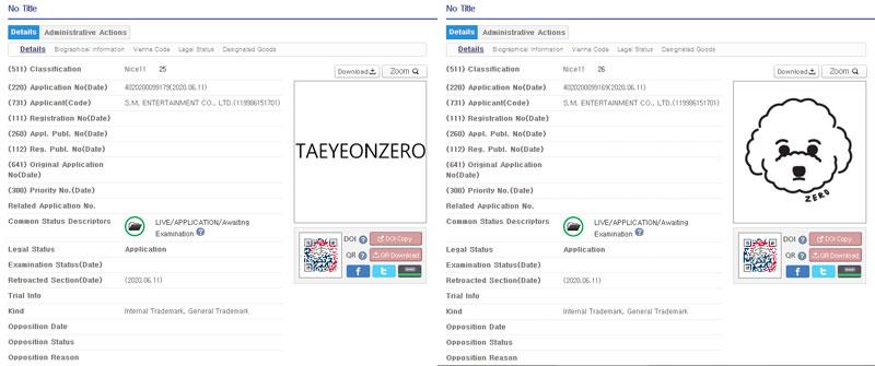 Taeyeons-Zero-Trademark
