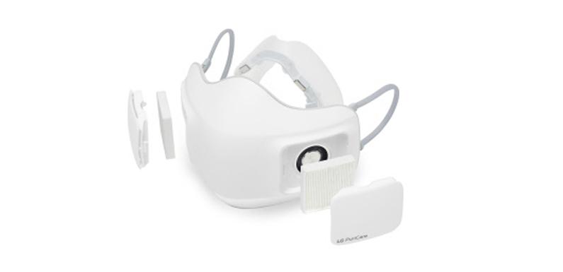 LG hat eine elektronische Mundmaske mit Luftfilter entwickelt