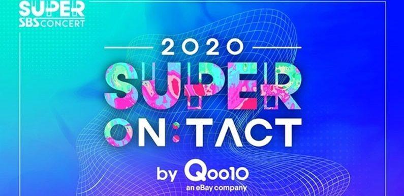 Erstes Lineup für SBS Onlinekonzert Super ON:TACT wurde bekanntgegeben
