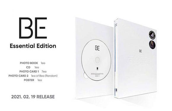 Hier könnt ihr die BE Essential Edition von BTS bestellen