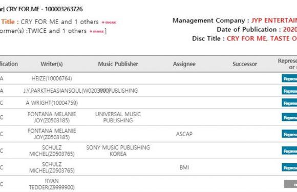 """""""Cry For Me"""" wird auf dem 10. Minialbum von TWICE enthalten sein"""