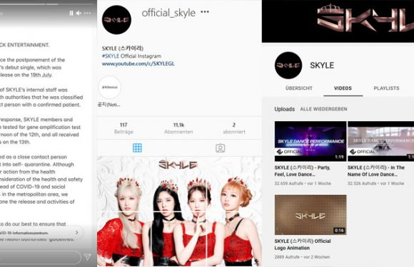 Debüt der Girlgroup SKYLE verschiebt sich fürs Erste